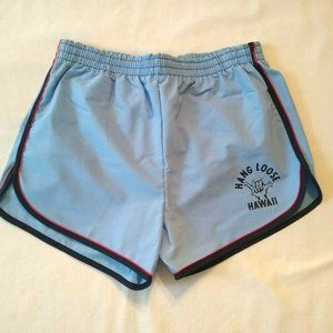 Vintage Hang Loose Hawaii Swim Shorts Size L Large